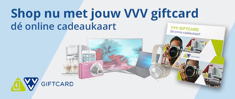 Shop nu met jouw VVV giftcard