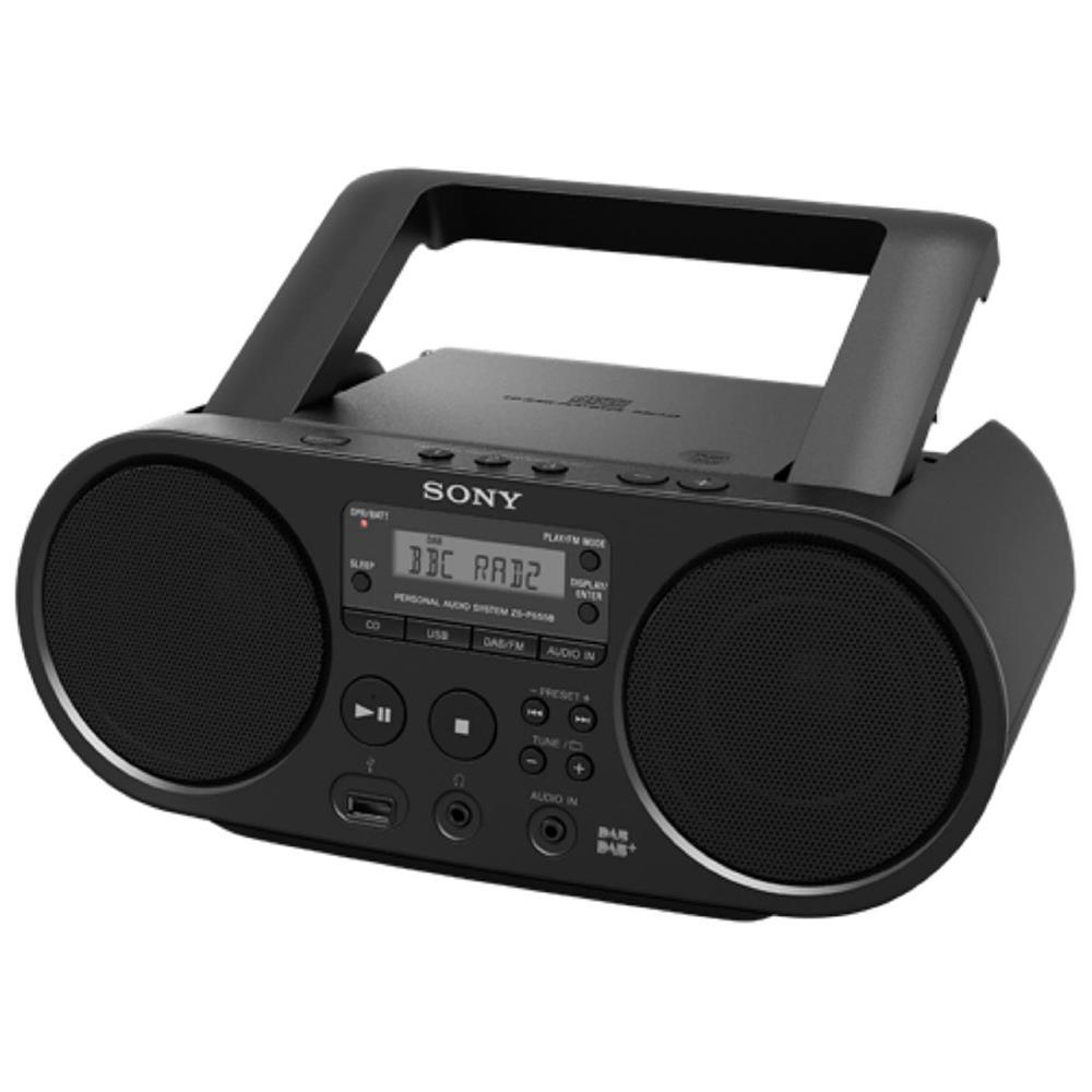 sony dab radio cd speler zs ps55b. Black Bedroom Furniture Sets. Home Design Ideas