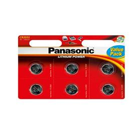 Panasonic batterij CR2032X6