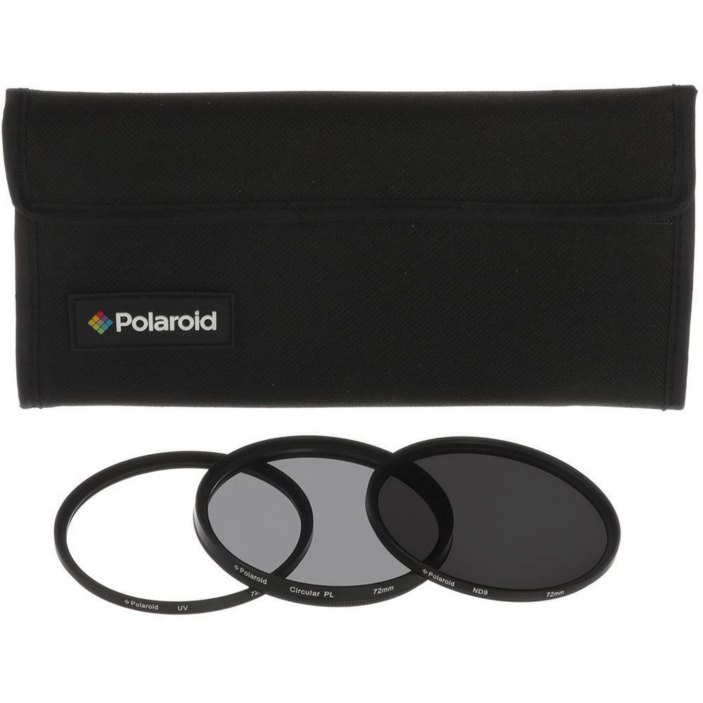 Polaroid filterkit PL3FILND72