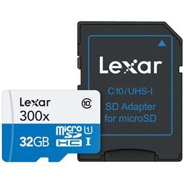 Lexar High Speed Micro-SDHC 32GB Class 10 300x
