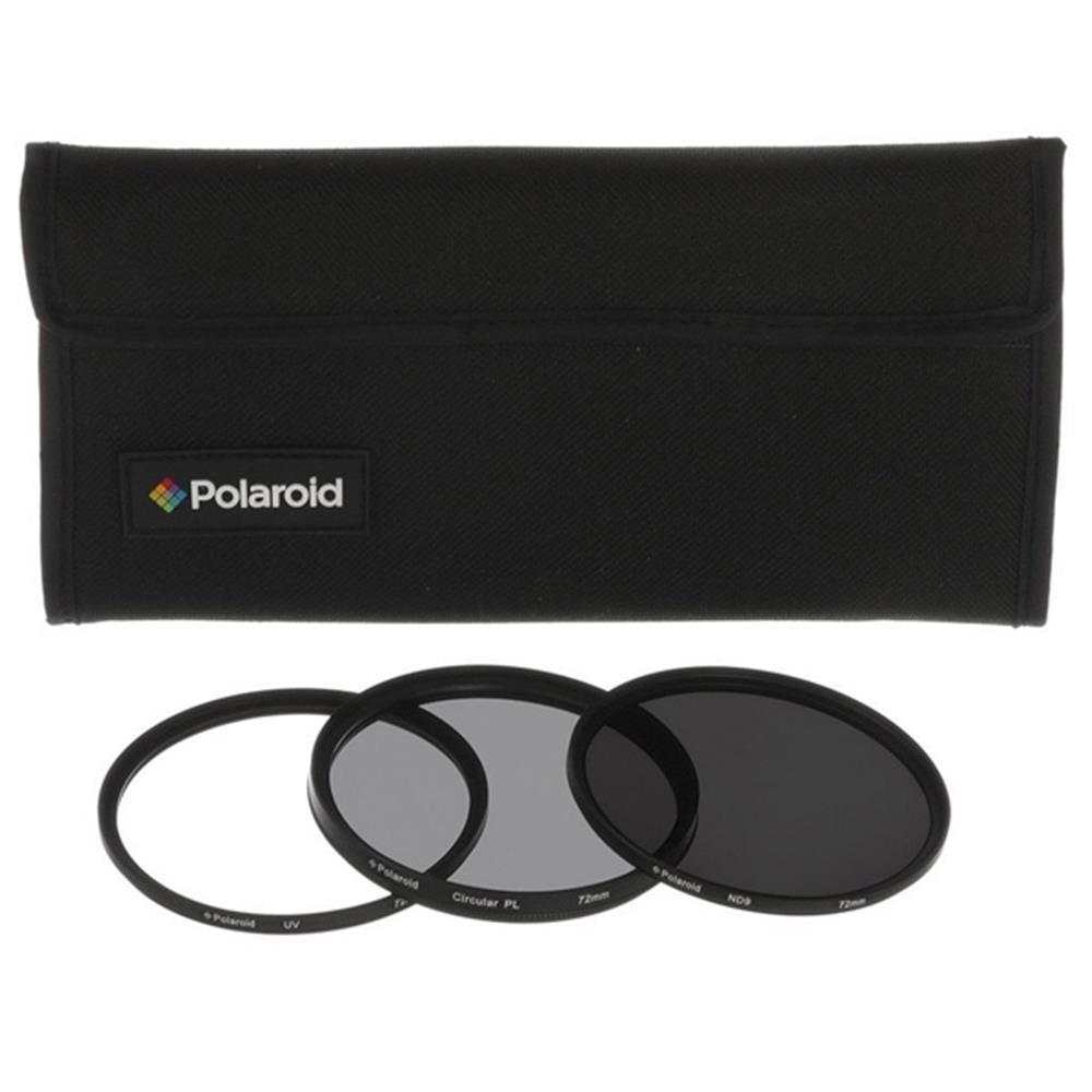 Polaroid 62MM FILTERKIT UV, POLA, ND9