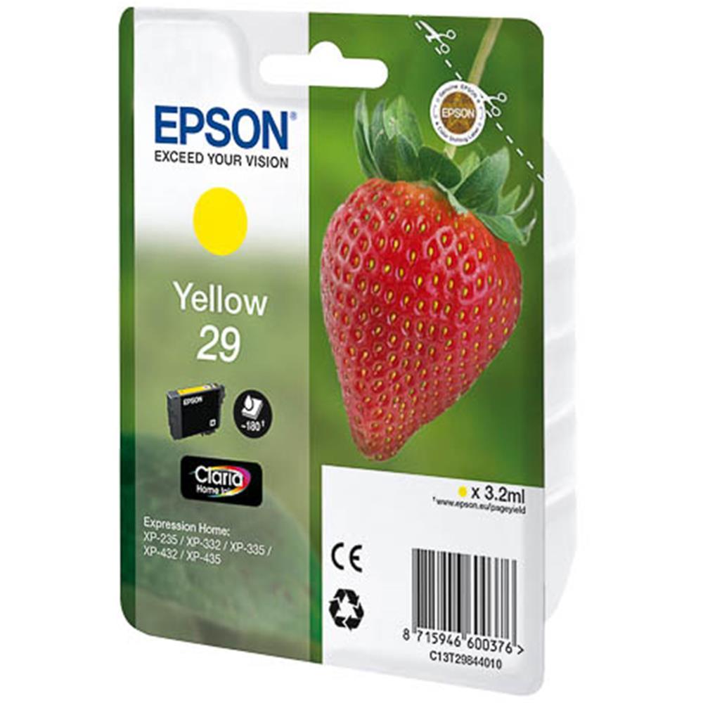 Epson cartridge T2984 YELLOW