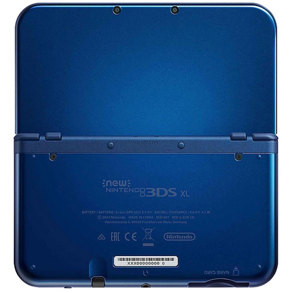 nintendo new 3ds xl console metallic blue. Black Bedroom Furniture Sets. Home Design Ideas