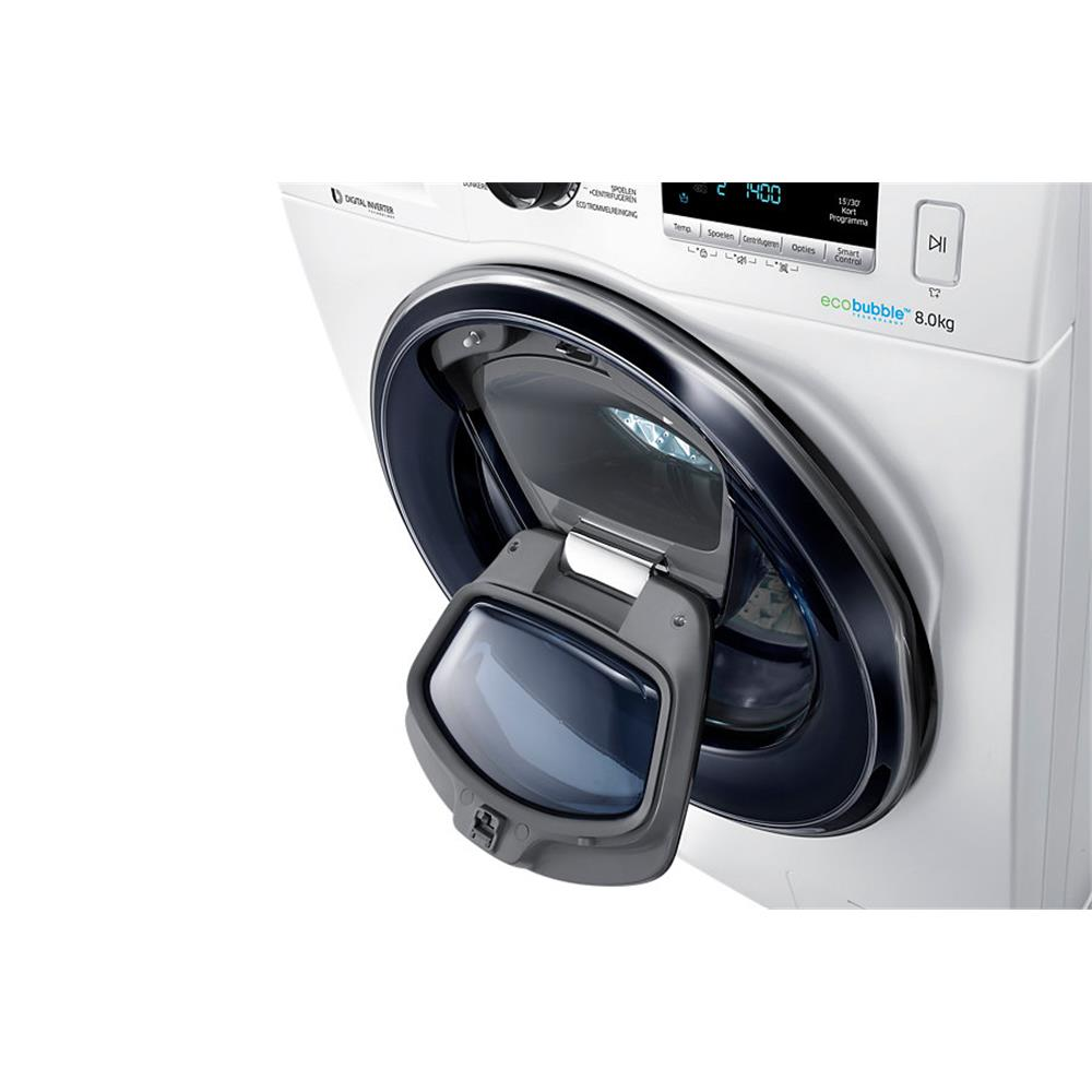 samsung addwash wasmachine ww80k6404qw en. Black Bedroom Furniture Sets. Home Design Ideas