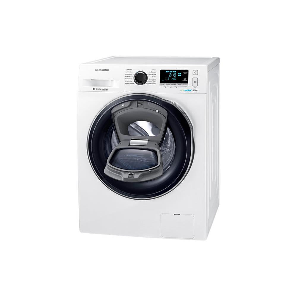 samsung addwash wasmachine ww80k6404qw en kopen. Black Bedroom Furniture Sets. Home Design Ideas