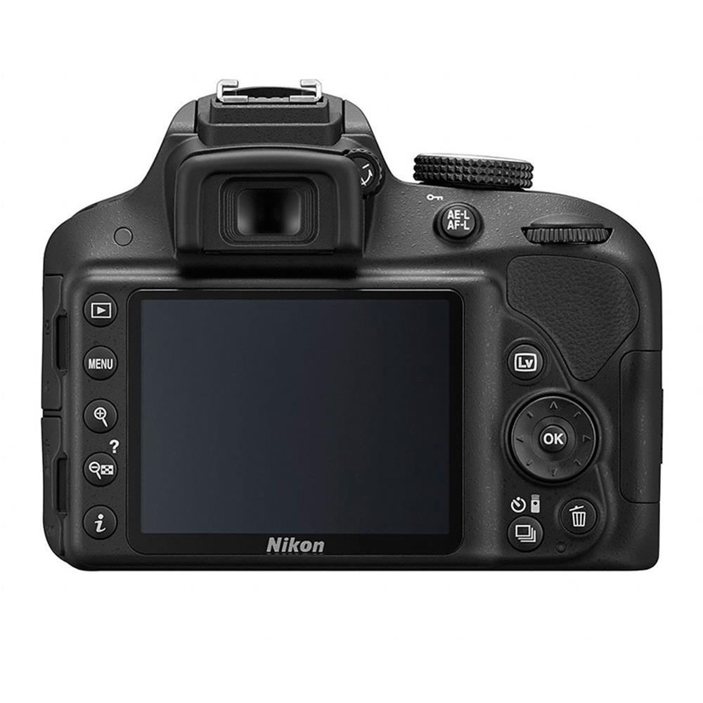 Nikon spiegelreflexcamera D3300 + 18-55mm VR lens