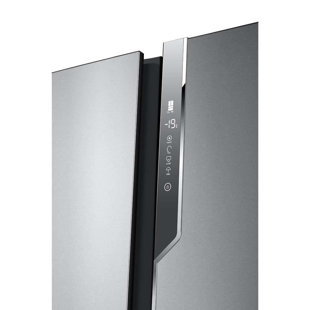 Amerikaanse Keuken Apparatuur : Haier Amerikaanse koelkast HB25FSSAAA kopen bcc.nl