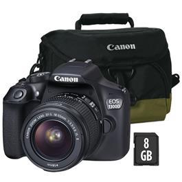Canon spiegelreflexcamera EOS 1300D 18-55 ISII KIT