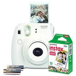 Fujifilm instant camera set Instax Mini 8 (wit)