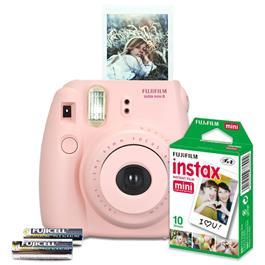 Fujifilm instant camera set Instax Mini 8 (roze)