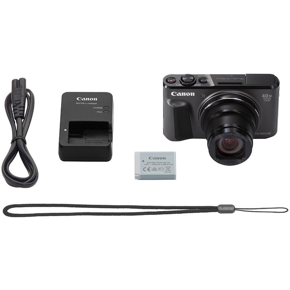 Canon compact camera Powershot SX720HS (zwart)