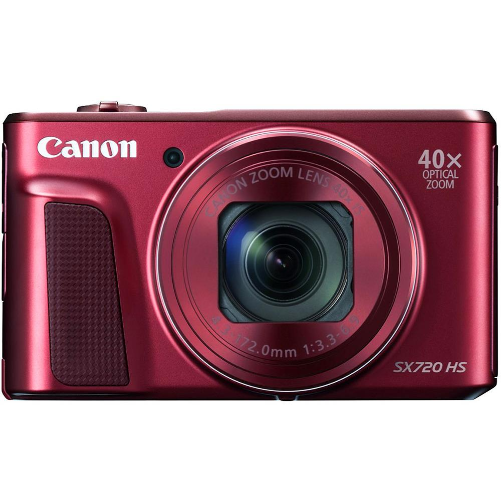 Canon compact camera Powershot SX720HS (rood)