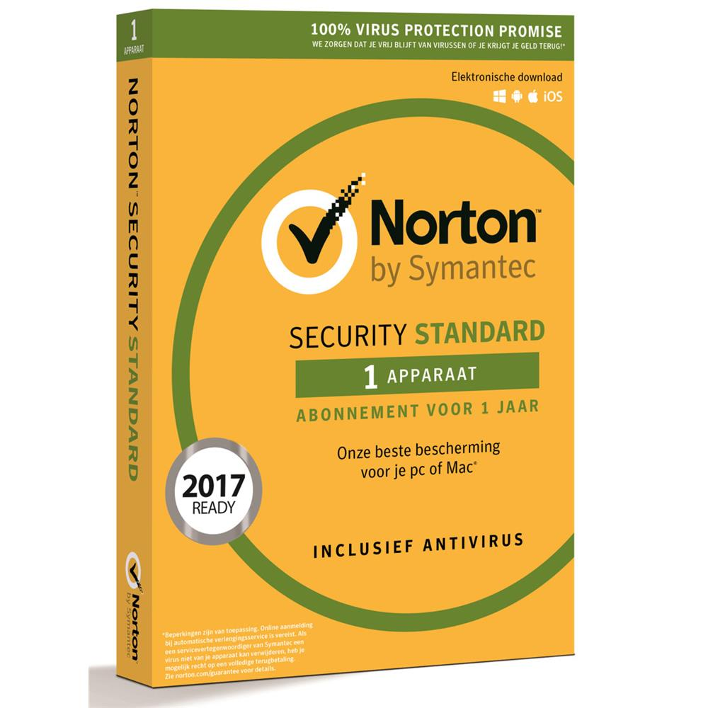 Norton Security Standard (1 apparaat)