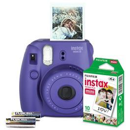 Fujifilm instant camera set Instax Mini 8 (paars)