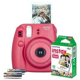 Fujifilm compact camera set INSTAX MINI 8 (rood)