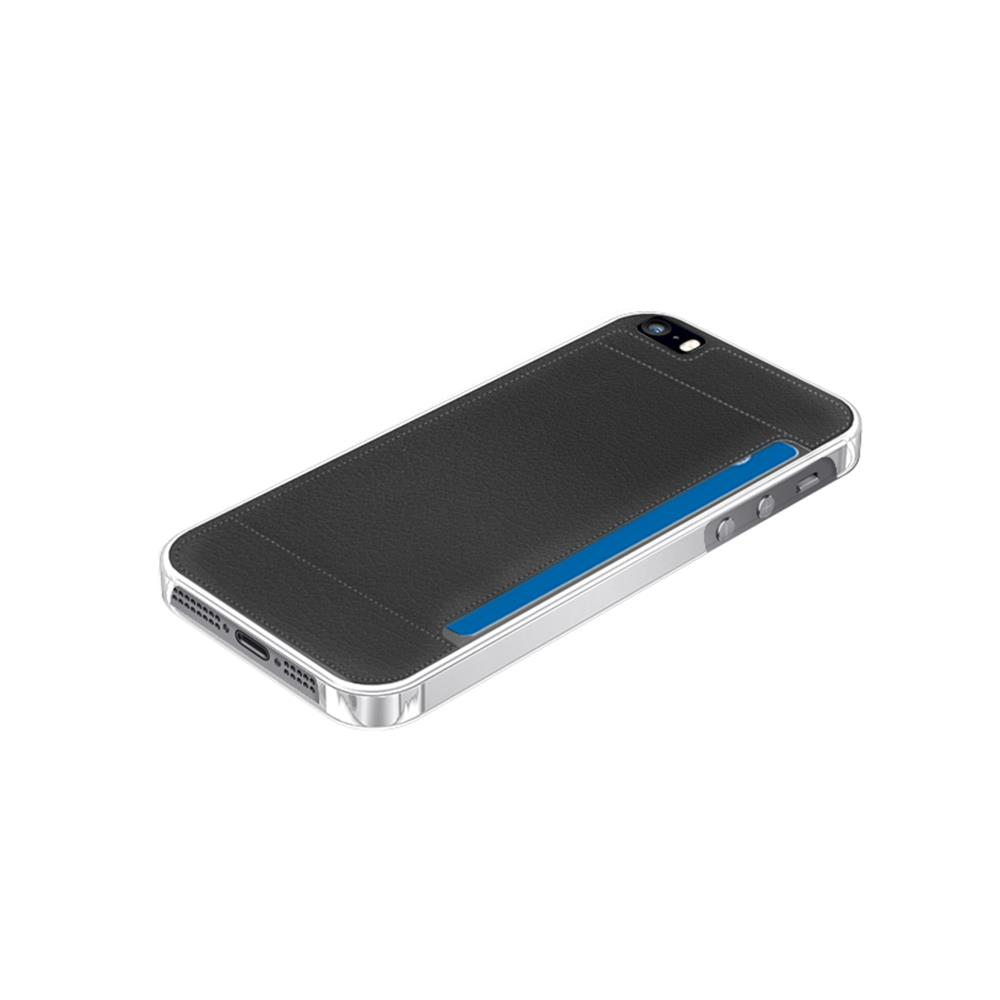 muvit back case crystal card iphone 5 5s se accessoires telefoonhoes cover. Black Bedroom Furniture Sets. Home Design Ideas