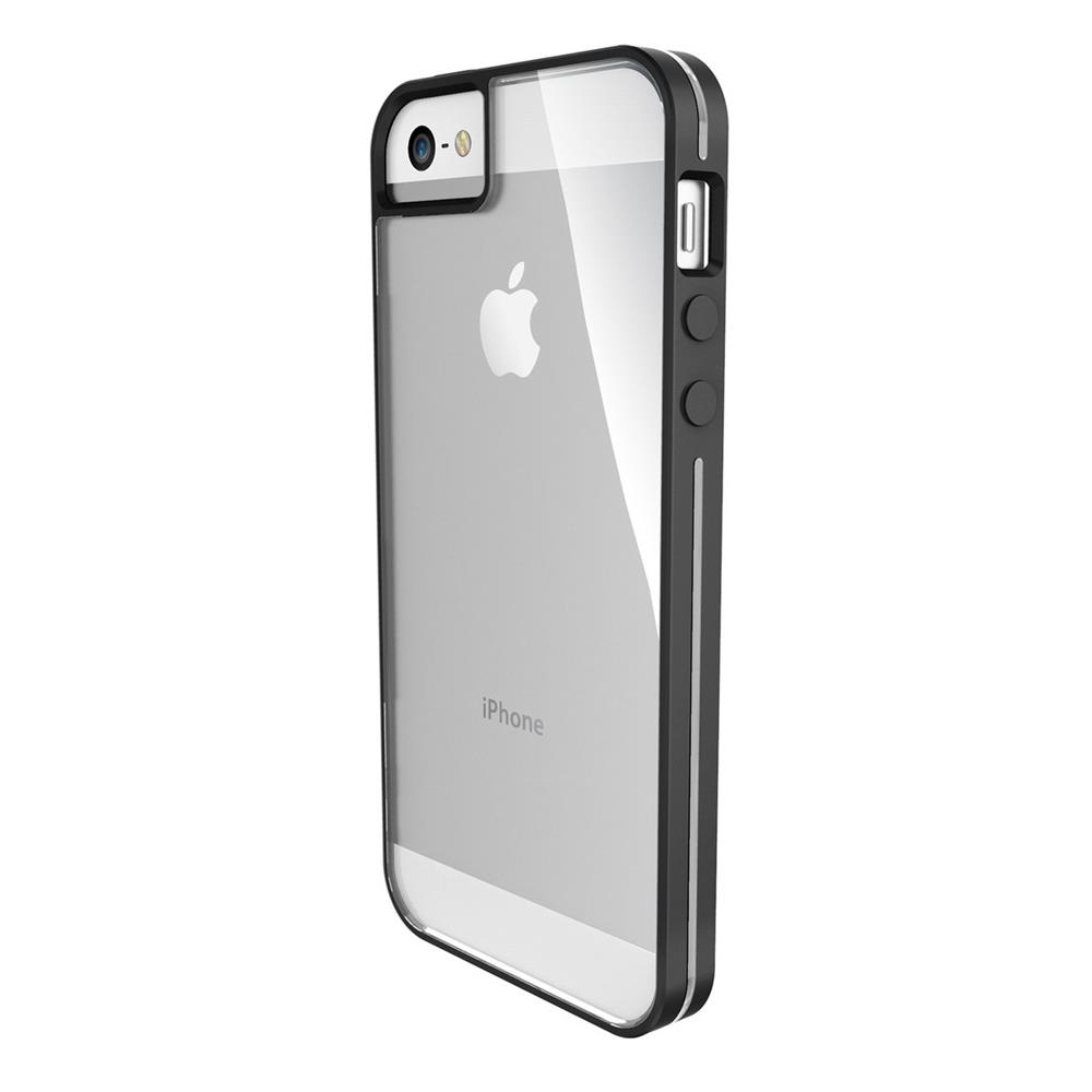 x doria bumpercover black voor apple iphone se accessoires telefoonhoes cover. Black Bedroom Furniture Sets. Home Design Ideas