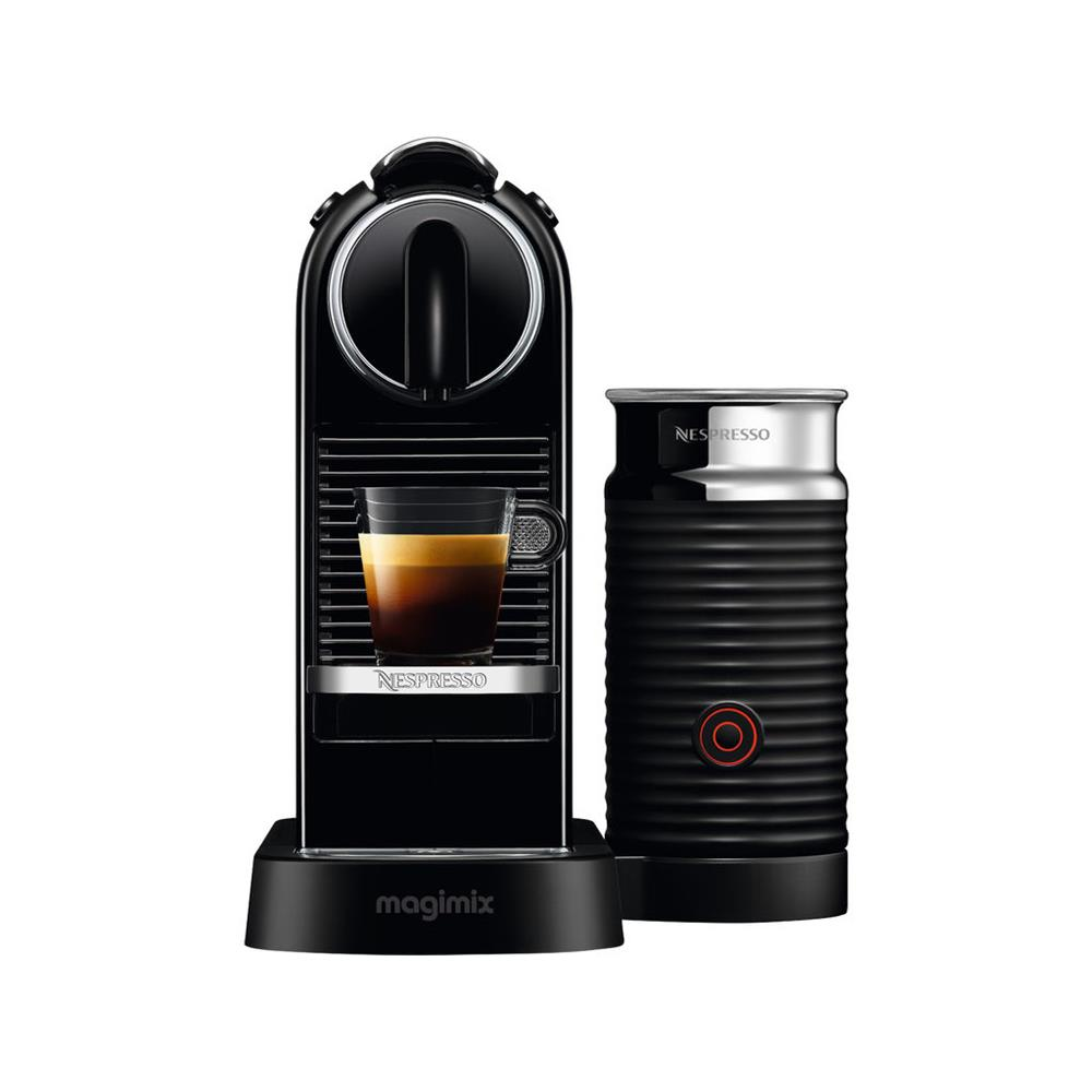 magimix nespresso m195 citiz milk zwart. Black Bedroom Furniture Sets. Home Design Ideas