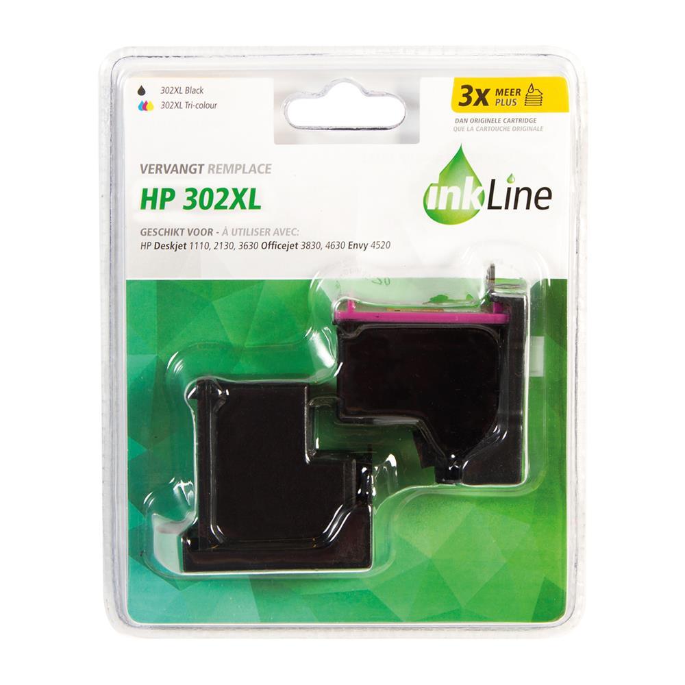 Inkline cartridge INH302BKCMY XL