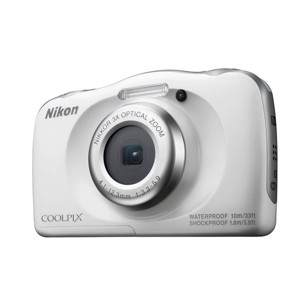 Nikon compact camera Coolpix W100 (wit)