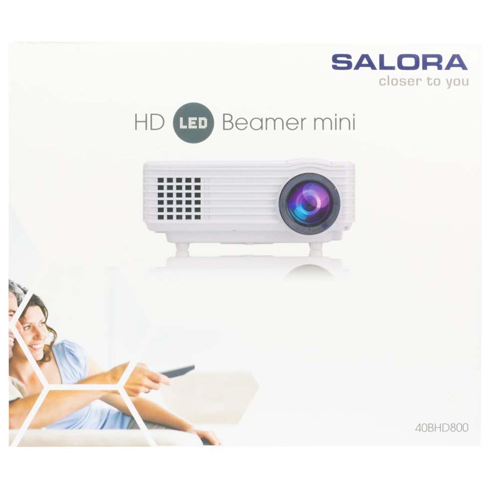 Salora beamer 40BHD800