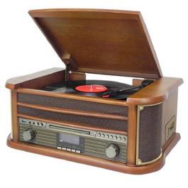 Soundmaster draaitafel NR545DAB