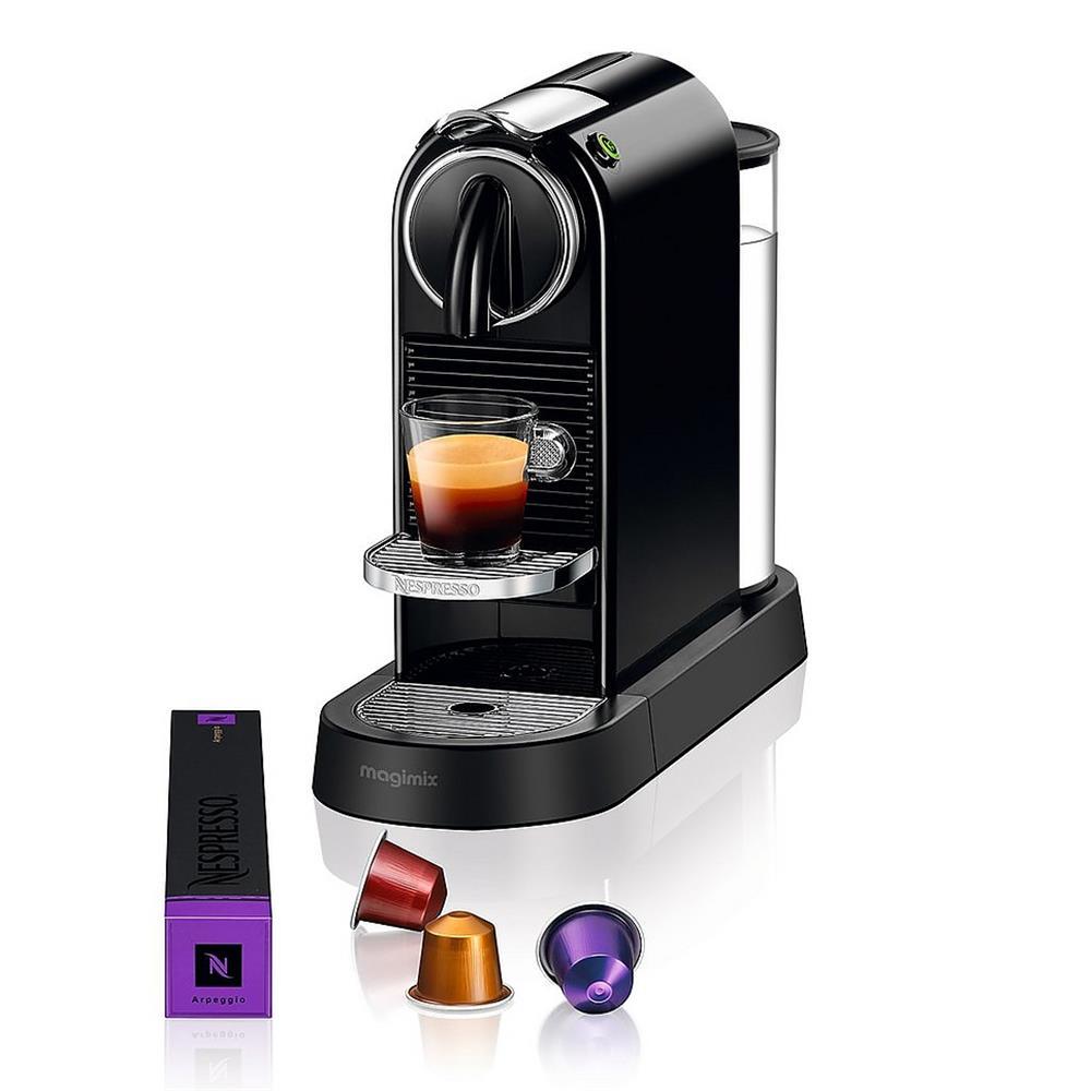 magimix nespresso citiz m195 zwart. Black Bedroom Furniture Sets. Home Design Ideas
