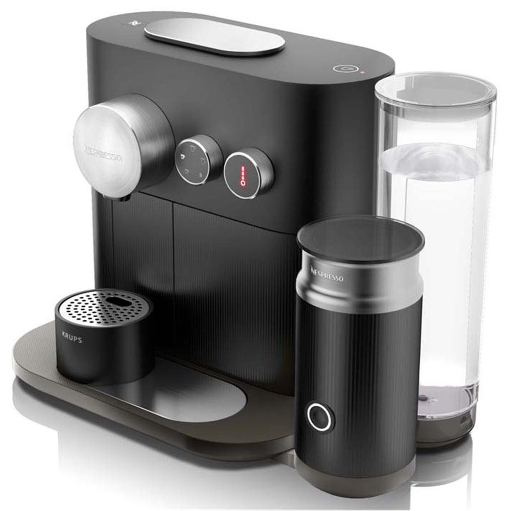 krups nespresso expert milk black xn6018. Black Bedroom Furniture Sets. Home Design Ideas