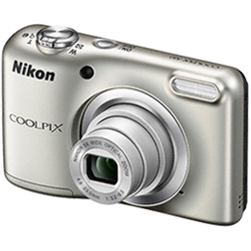 Nikon compact camera A10 ZILVER MET TAS