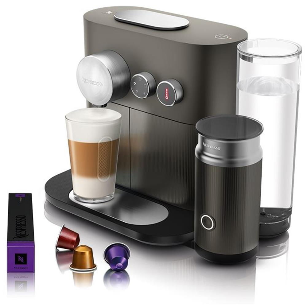 magimix nespresso 11380nl expert milk grijs. Black Bedroom Furniture Sets. Home Design Ideas