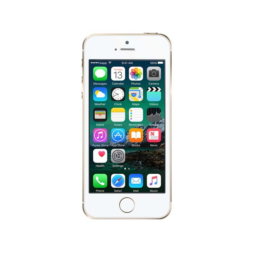 leapp smartphone iphone 5s 16gb goud refurbished. Black Bedroom Furniture Sets. Home Design Ideas