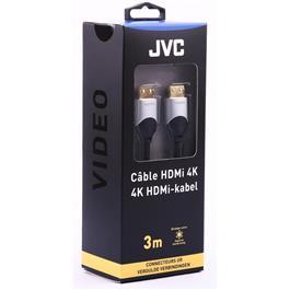 JVC HDMI kabel HDMI ULTRA HD 4K GOLD CONNECTORS 3M