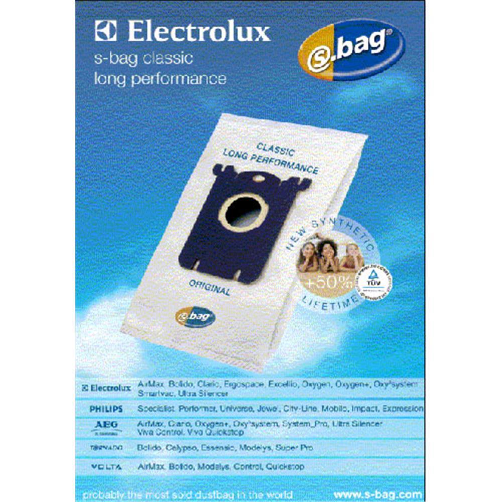 Electrolux stofzuigerzakken E201 S-bag Classic (4 stuks)