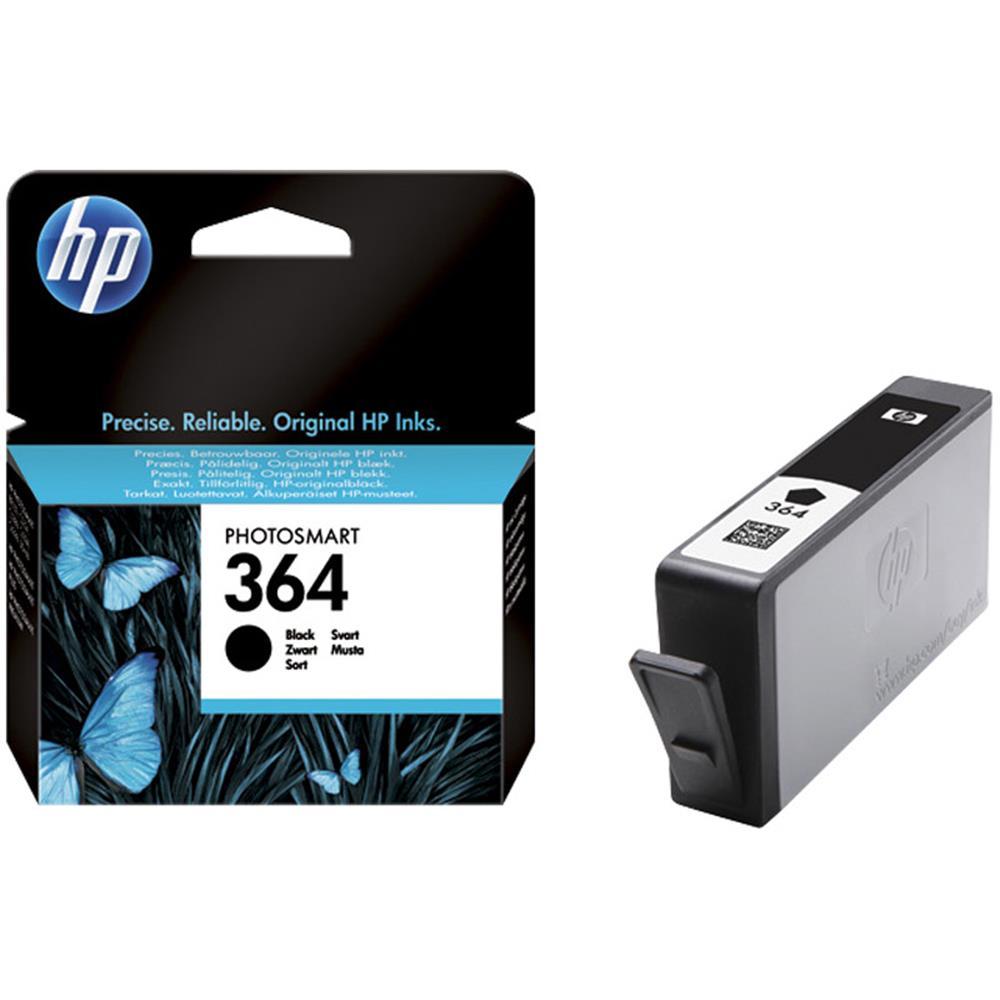 HP cartridge 364 BK (zwart) | Accessoires Inkt cartridge ...