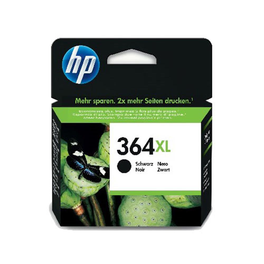 HP XL cartridge 364 XL BK (zwart)