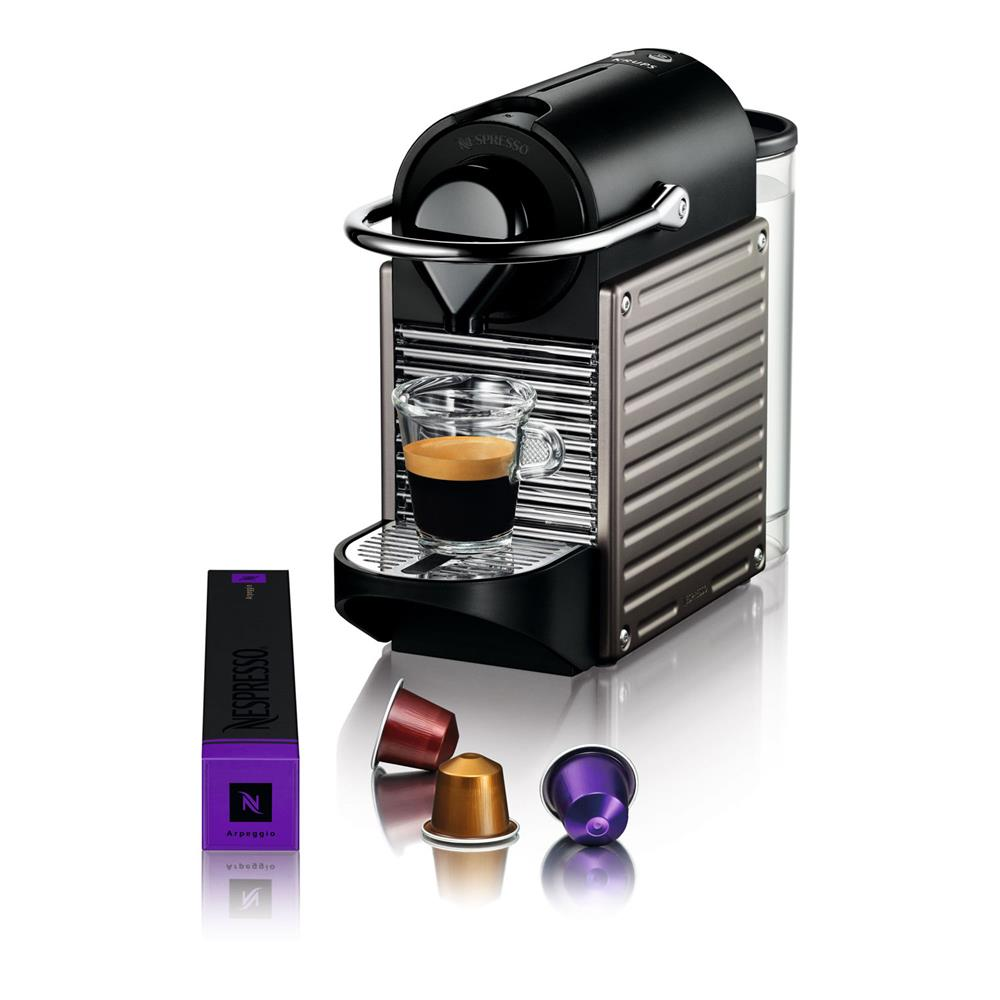 krups nespresso pixie xn3005 titanium. Black Bedroom Furniture Sets. Home Design Ideas