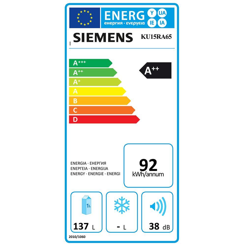 Siemens koelkast (onderbouw) KU15RA65
