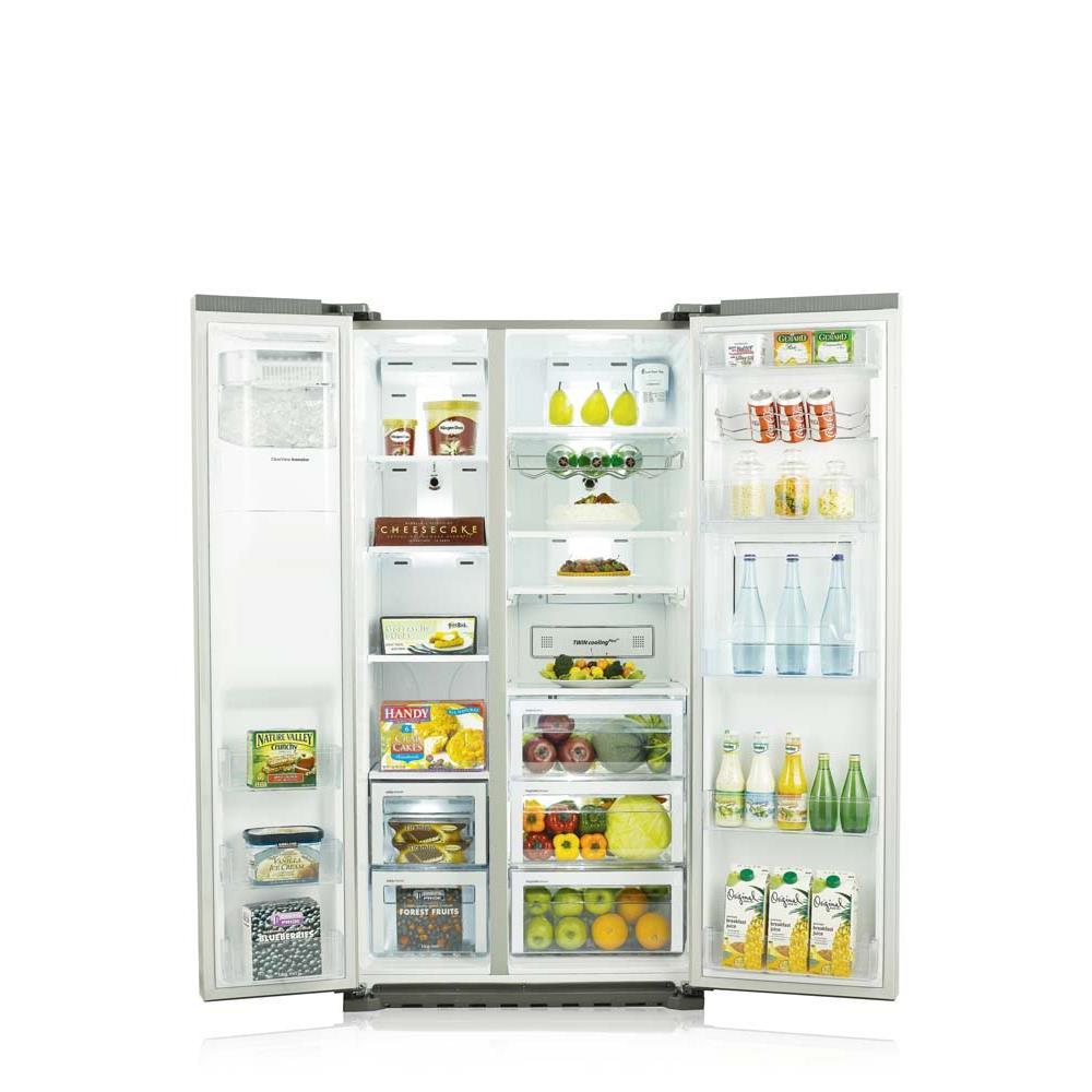 Samsung amerikaanse koelkast rs61781gdsr ef for Interieur frigo smeg