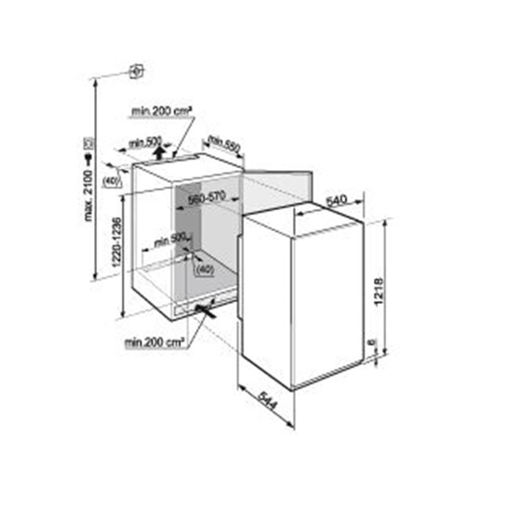 Liebherr koelkast (inbouw) IKS2314 20 kopen   bcc nl