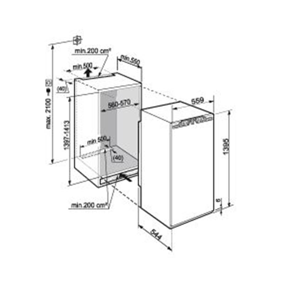 Liebherr koelkast (inbouw) IK2754 20 kopen   bcc nl