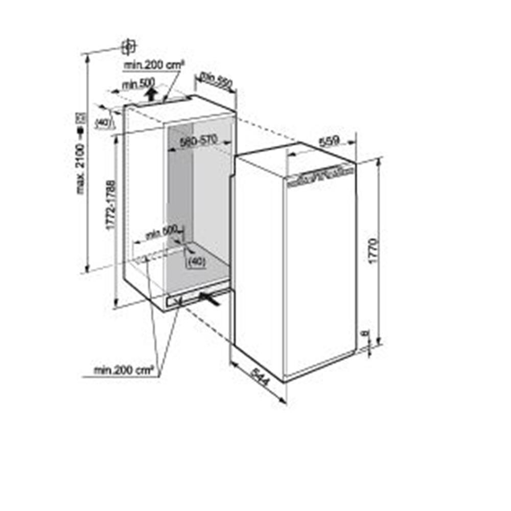 Liebherr koelkast (inbouw) IK3510 20