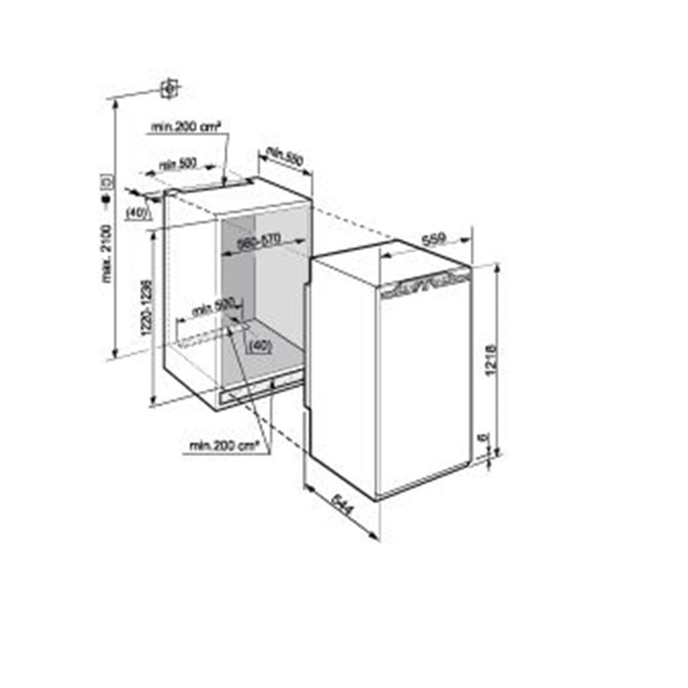Liebherr koelkast (inbouw) IKBP2350 20 kopen   bcc nl
