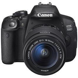 Canon spiegelreflexcamera EOS 700D + 18-55 IS STM-lens