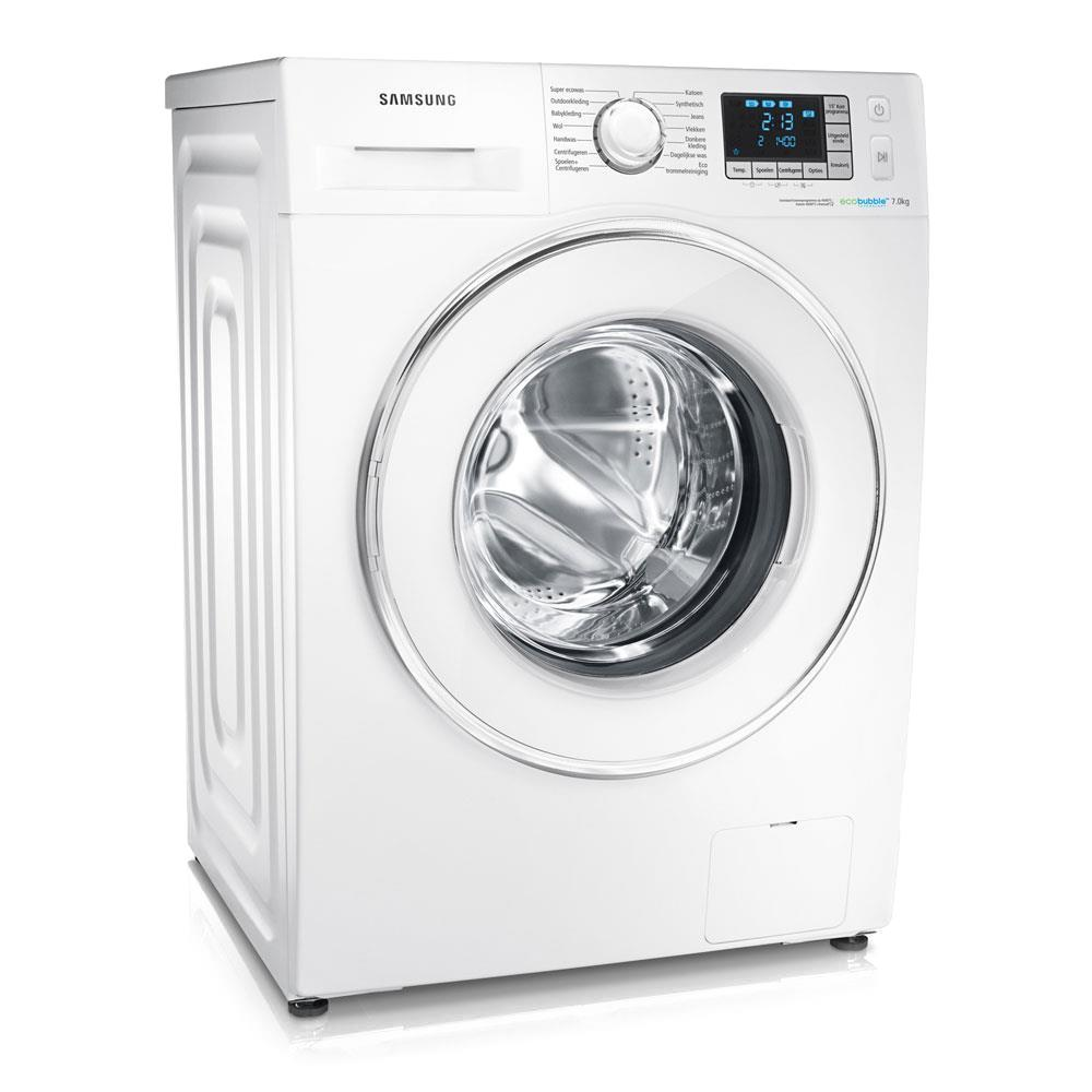 samsung wasmachine eco bubble wf70f5e5q4w kopen. Black Bedroom Furniture Sets. Home Design Ideas