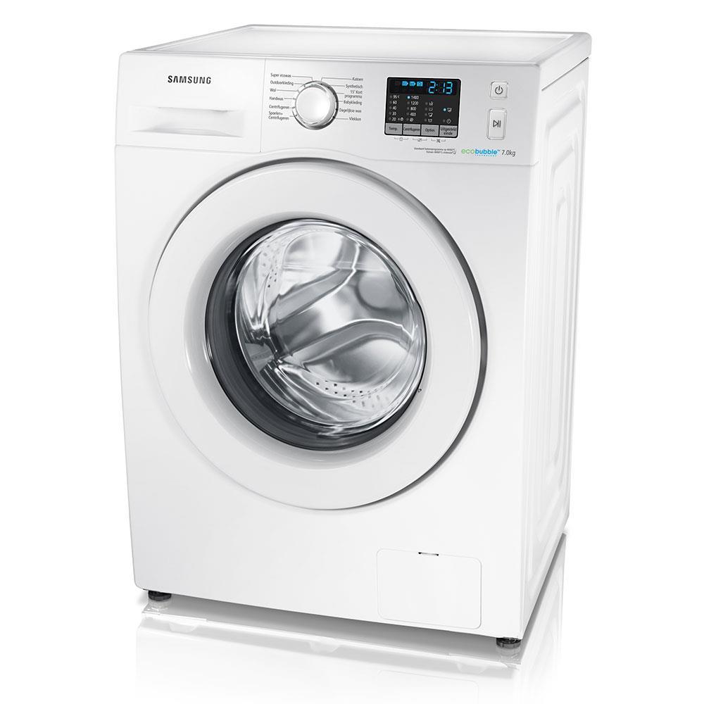 Samsung EcoBubble wasmachine WF70F5E0Q4W/EN