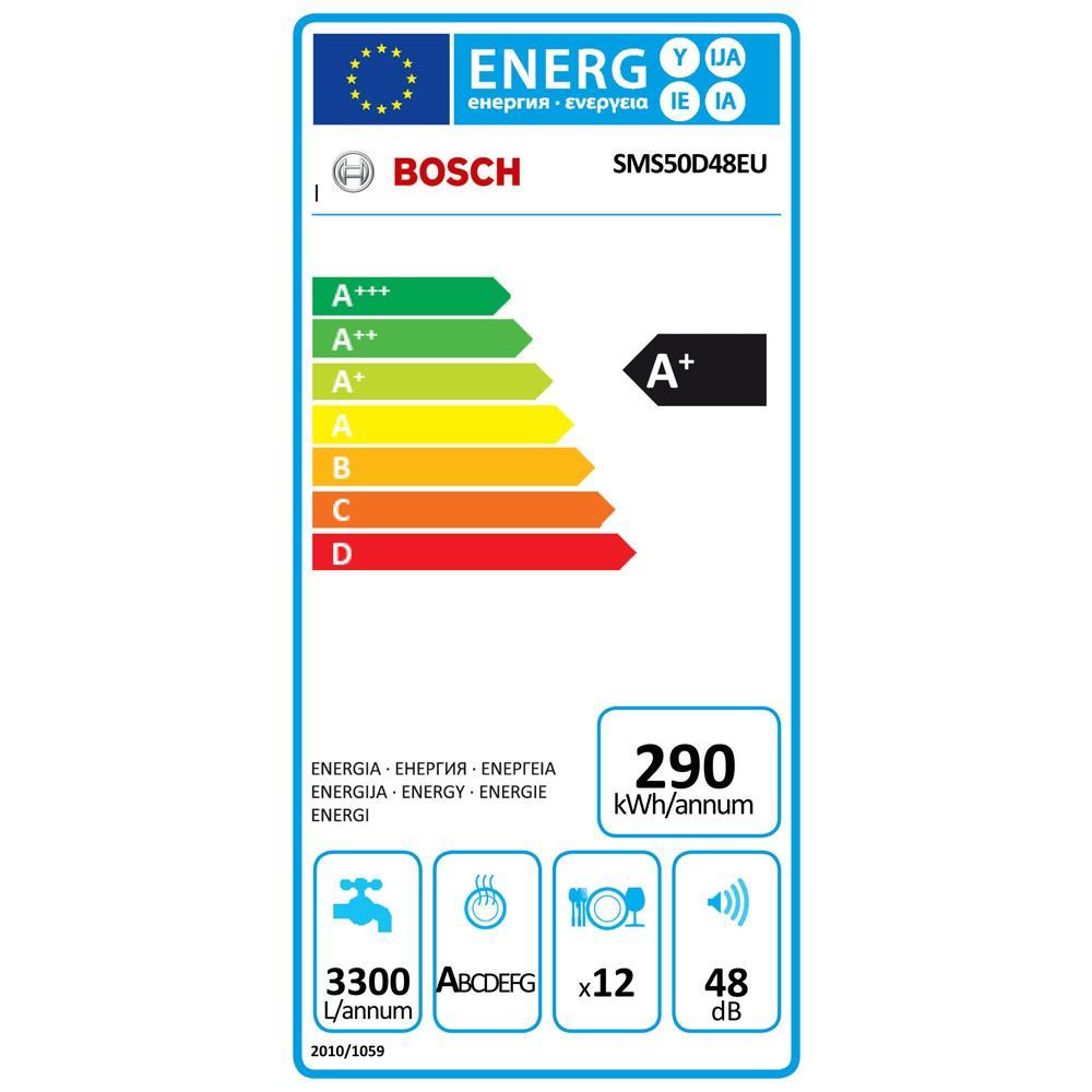 Bosch vaatwasser SMS50D48EU