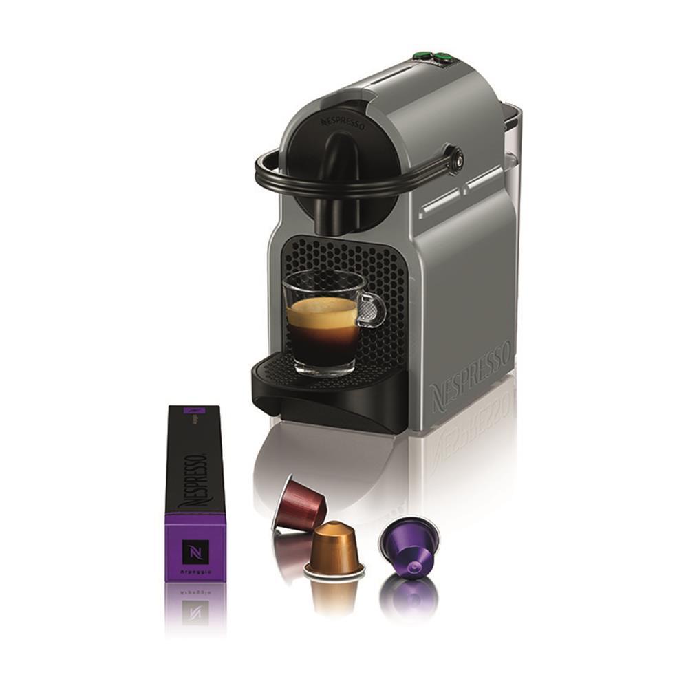 magimix nespresso inissia m105 grijs kopen. Black Bedroom Furniture Sets. Home Design Ideas
