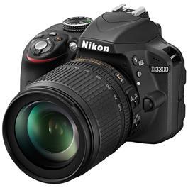 Nikon D3300 + AF-S DX NIKKOR 18-105mm VR lens