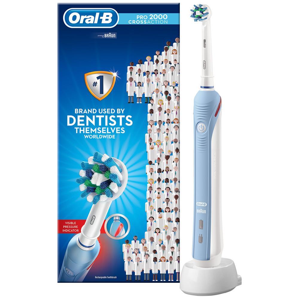 Oral-B elektrische tandenborstel Pro 2000